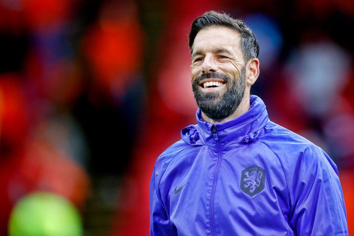 Ruud van Nistelrooy in juni, tijdens het EK met Oranje.