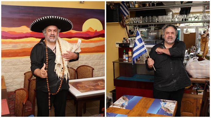 De bekende flamboyante restaurantuitbater Theo Siokos is niet alleen gastheer in zijn Grieks restaurant maar voortaan ook in het Mexicaanse broertje El Gringo.