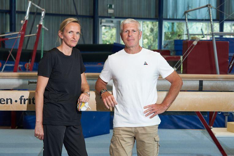 Marjorie Heuls en Yves Kieffer zijn de onmiskenbare architecten, de adoptieouders van het succes van Nina Derwael. Beeld Photo News