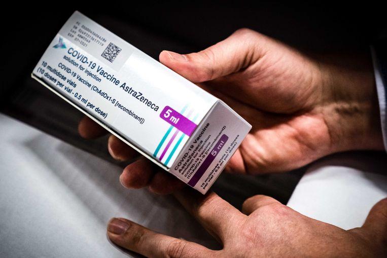 Nu zestigminners geen AstraZenecavaccin krijgen, kan dat betekenen dat miljoenen vaccins ongebruikt blijven.  Beeld ANP