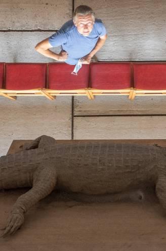 REEKS. Levende legendes in Vlaanderen: De krokodil  in de betonnen kapel van Kerselare die al veel pelgrims de nodige schrik bezorgde