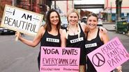 Eat this Jani: vrouwen die legging als broek dragen komen op straat