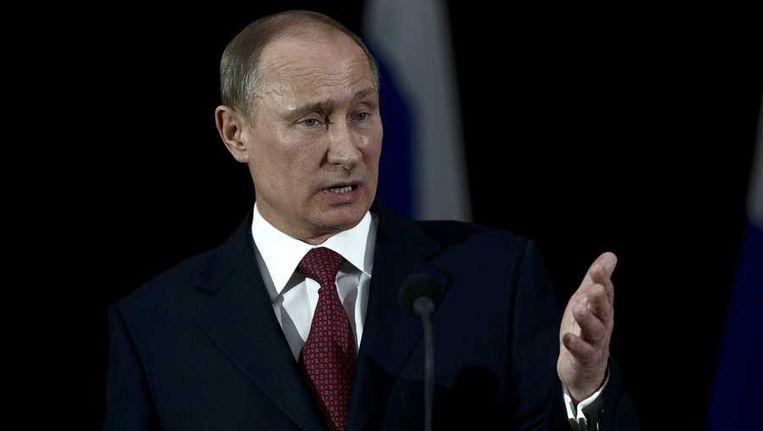 Russische president Vladimir Poetin eist excuses van Nederland Beeld anp