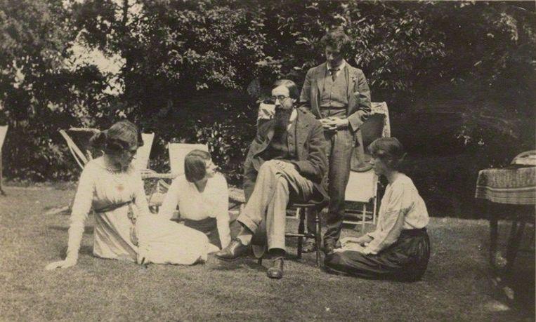 Bloomsbury Group, 1915 Beeld National Portrait Gallery London