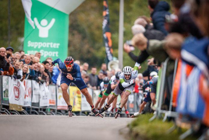 Gary Hekman won de laatste editie van de Klim van Steenwijk. De inlineskater uit Kampen won in 2019 voor voor de zesde keer 'De Klim'.