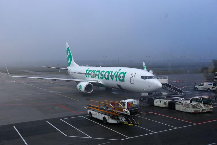 Het KNMI had dinsdagochtend code geel afgekondigd in verband met de dichte mist in Noord-Brabant.