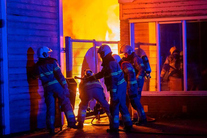 Voor de tweede keer in korte tijd brand bij een basisschool aan de Vlasakkers in Oss.