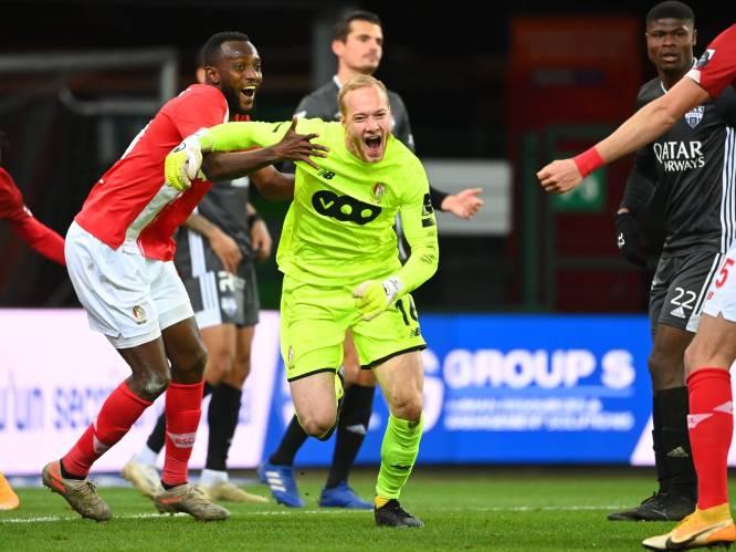 """Doelman Bodart gaat Bolat achterna en scoort op Sclessin in slotseconden: """"Ik stond achter de goal toen Bolat het deed"""""""