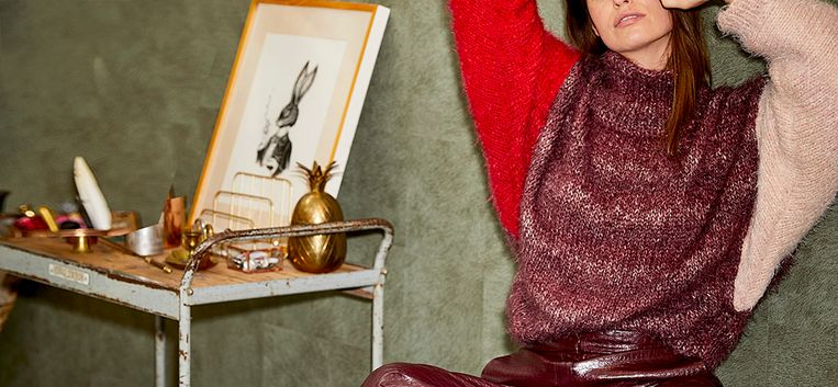 Om te knuffelen: maak deze aaibare trui met vleermuismouwen