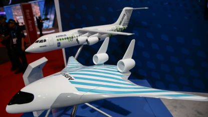 Airbus onthult nieuw futuristisch design voor milieuvriendelijker vliegtuig