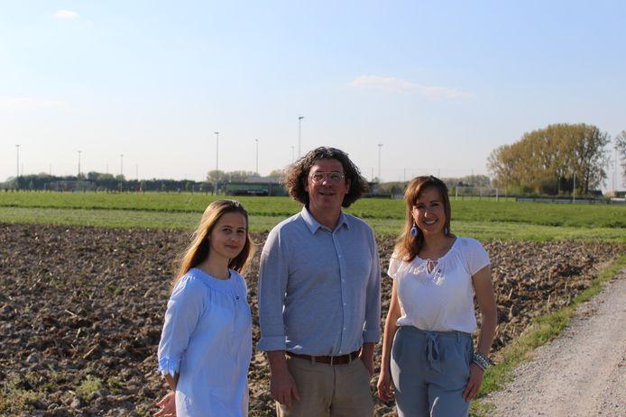 Open Vld Plus raadsleden Louise Van Hoorde, Filip Michiels en Kaat Pien willen een masterplan sport.