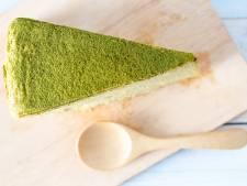 Wat Eten We Vandaag: Matcha cheese cake