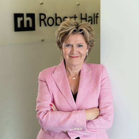 Frédérique Bruggeman, managing director Robert Half.