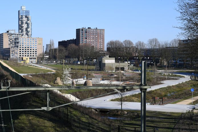 Het Spoorpark in Tilburg