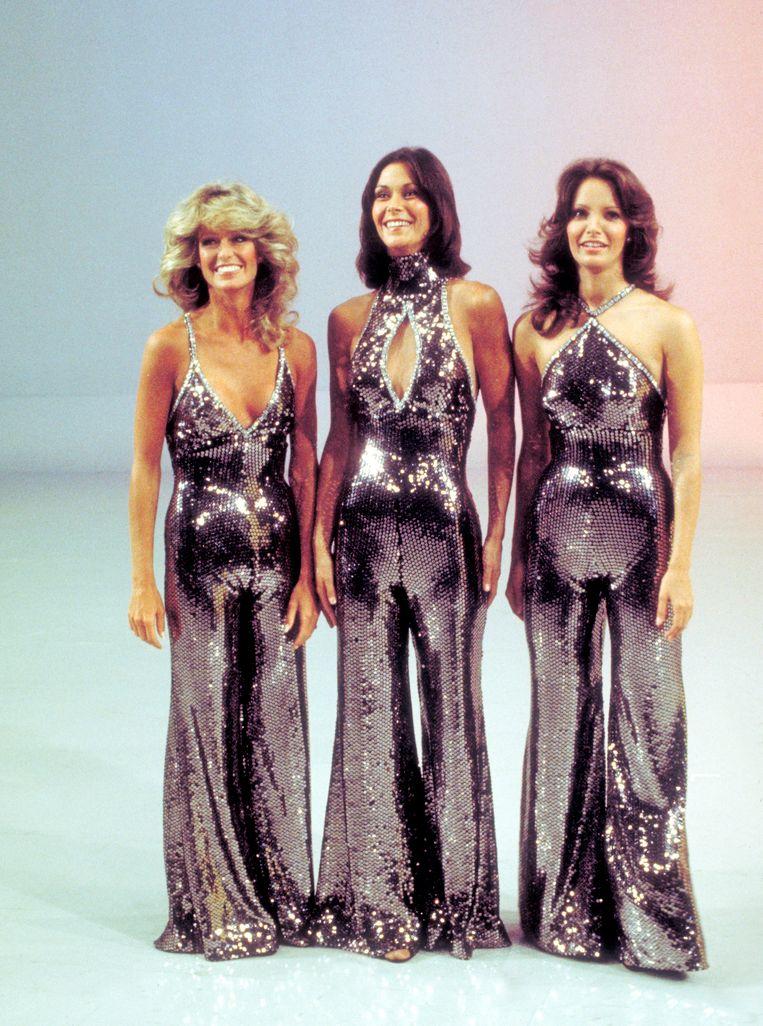 De originele Charlie's Angels: Farrah Fawcett, Kate Jackson en Jaclyn Smith. Beeld Getty Images