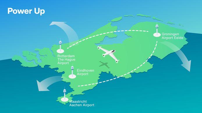 Ook Maastricht Aachen Airport sluit zich aan bij de proeven met elektrisch vliegen.