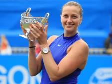 Kvitova renoue avec la victoire à Birmingham