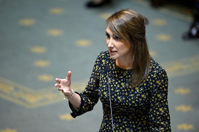 Sophie Rohonyi, députée fédérale DéFI et auteure du texte.