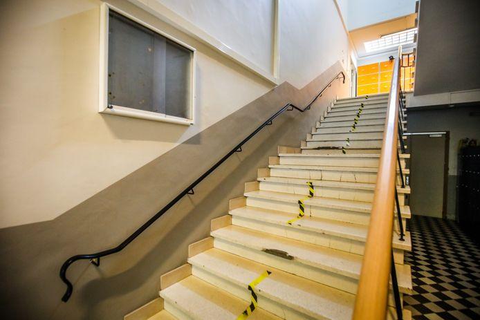 Een vleugel van de Academie wordt gerenoveerd: er komt ook een lift