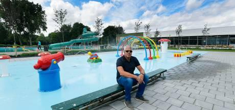 Opnieuw lekkage in zwembad De Louwert en wéér op een moment dat het totaal niet uitkomt...