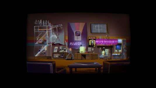 Het 'Digital Kingdom' in 'Narita Boy' is een gamewereld binnen een game.