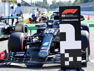 Hamilton pakt 94ste pole op Monza, historisch slechte kwalificaties voor Ferrari