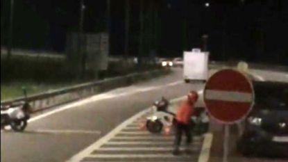 VIDEO. Schietpartij op agenten in Spa gefilmd