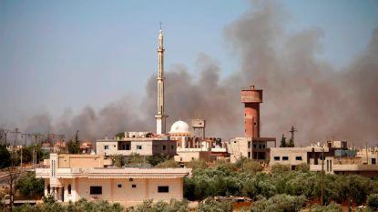 Rusland bombardeert voor het eerst in jaar rebellengebied in zuiden van Syrië, VS waarschuwt dat rebellen er alleen voor staan