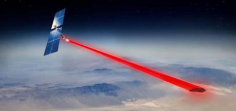 Ce panneau solaire lancé dans l'espace est capable d'envoyer de l'électricité sur Terre