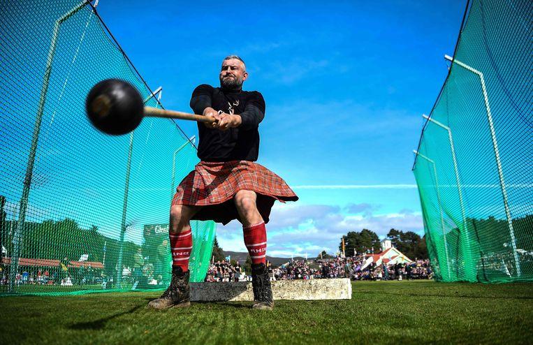 Benieuwd of hamerslingeren op het programma van de Meulebeekse Highland Games staat.