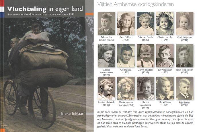 Het boek 'Vluchteling in eigen land' van Ineke Inklaar.