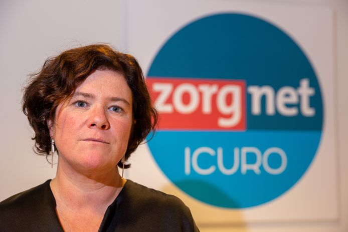 Margot Cloet, gedelegeerd bestuurder van ziekenhuiskoepel Zorgnet-Icuro.
