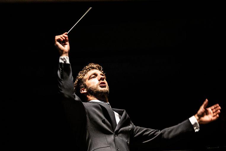 Het Concertgebouw organiseert een concert onder leiding van chef-dirigent Lorenzo Viotti. Beeld