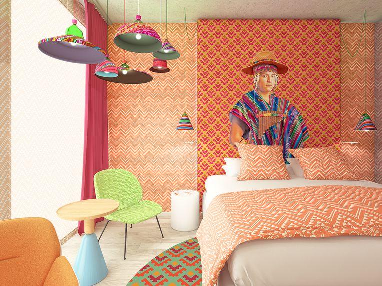 Hotel Nhow Amsterdam RAI. Beeld