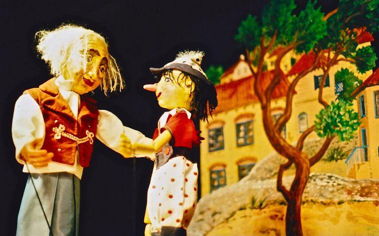 Het Marionettentheater komt met een eigen bewerking van het verhaal van Pinokkio. Beeld