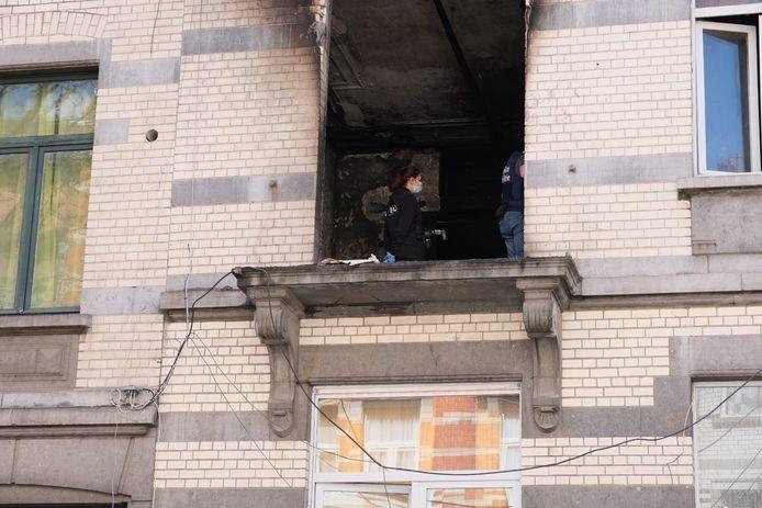 Twee kindjes sterven bij brand in Laken.
