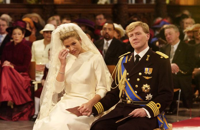 De trouwdag van koning Willem-Alexander en koningin Maxima.