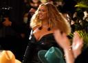 Beyoncé lors des Grammy Awards (Los Angeles, 14 mars)