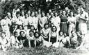 De Joods bewoners van het 'Palestinahuis' Voorburg in Elden bij Arnhem in 1942.