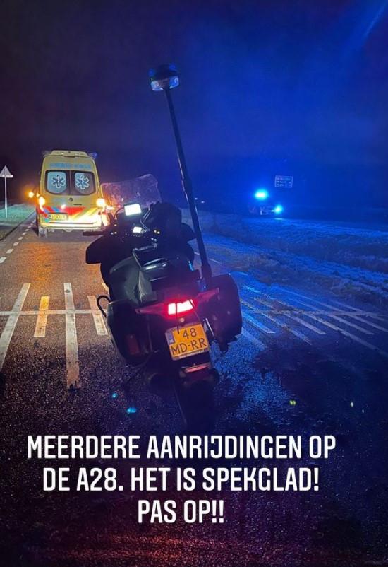De waarschuwing van politie Zwolle op Instagram