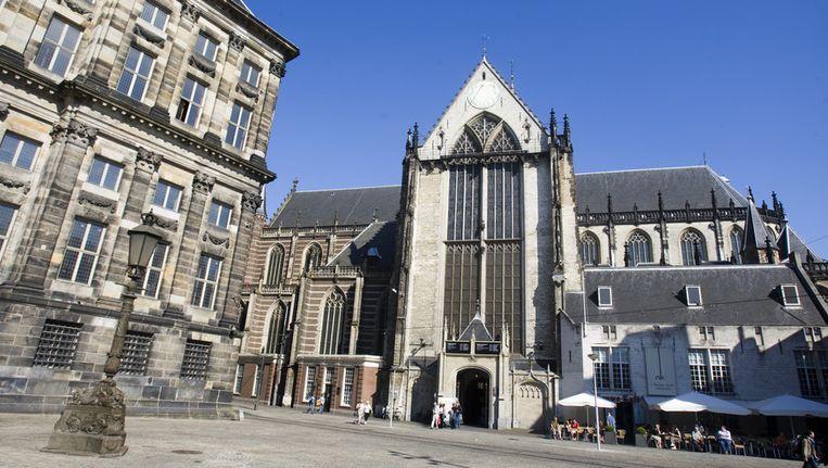 De Nieuwe Kerk in Amsterdam, hier wordt 30 april Willem-Alexander ingehuldigd tot koning Beeld ANP