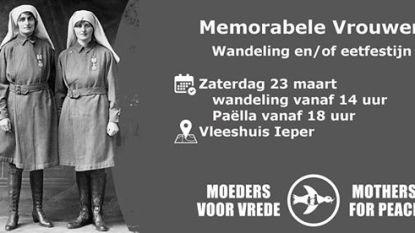 Ontdek 'Memorabele Vrouwen' tijdens wandeling door Ieper