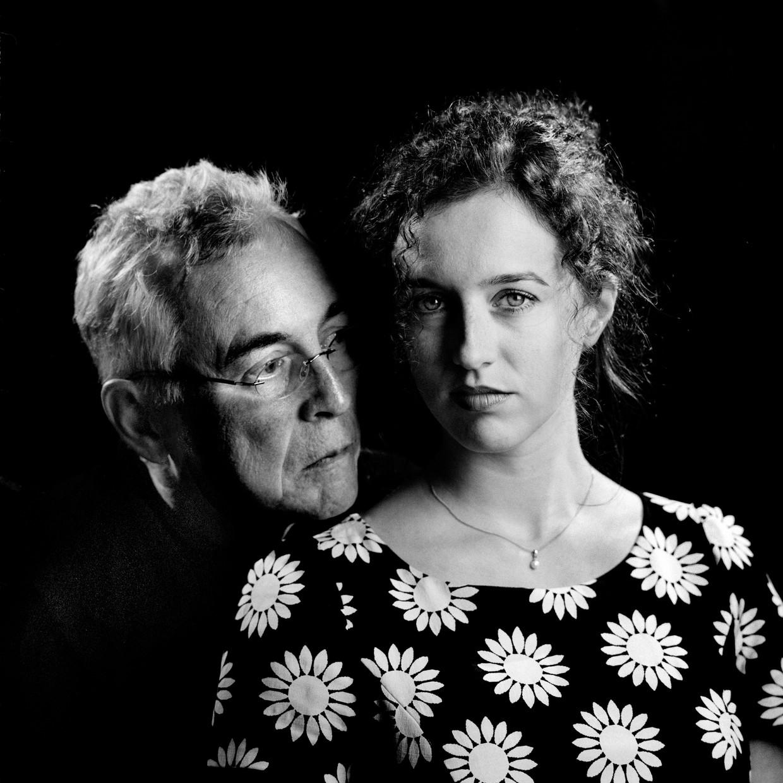 Henk Blanken en dochter  Nina Blanken Beeld Gerard Wessel