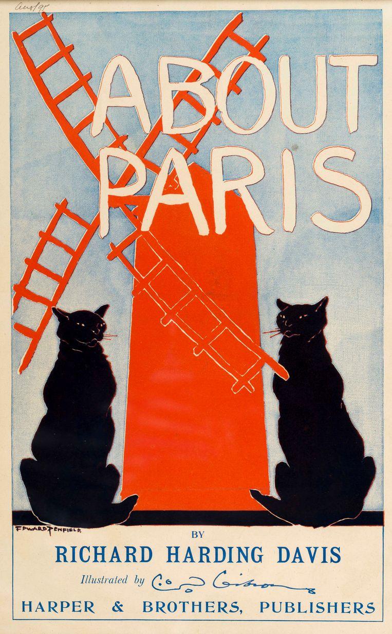 'About Paris', Edward Penfield (1895) Beeld rv © Het KattenKabinet