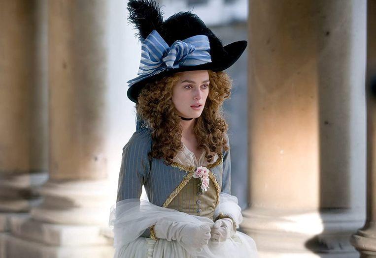 Keira Knightley in The Duchess van Saul Dibb Beeld