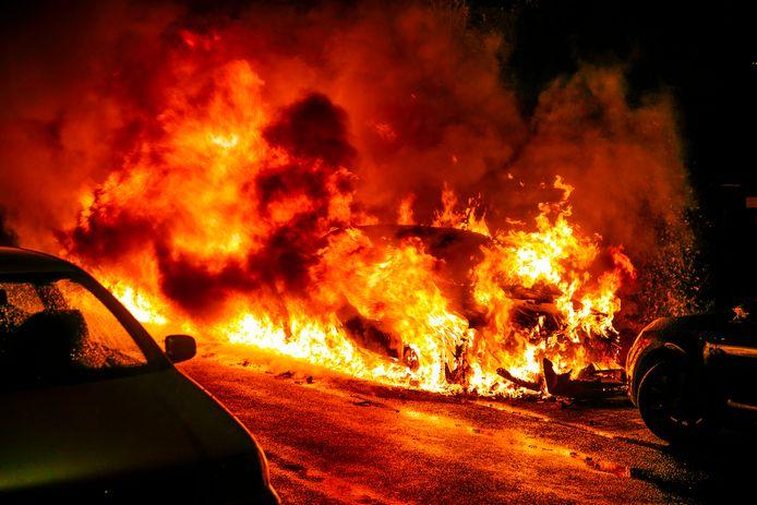 De autobranden in Velp