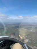 Ook Bedaf is goed te zien vanuit de lucht.