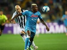 Napoli weer koploper na zege bij Udinese