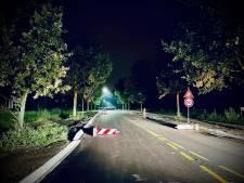 Honderd wegafzettingsborden omver getrapt tussen Hilvarenbeek en Diessen: 'Heb je enig idee wat er had kunnen gebeuren?'