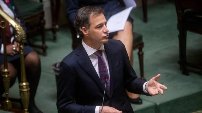 Premier De Croo wil Rode Duivels eerder laten vaccineren